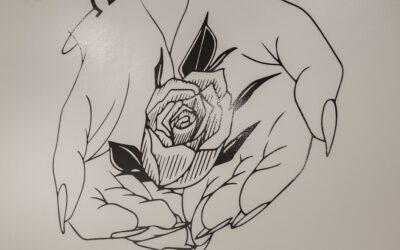 Maleskabelon – dekorer indendørs
