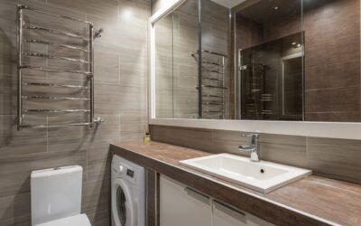 Indret dit badeværelse funktionelt og stilrent